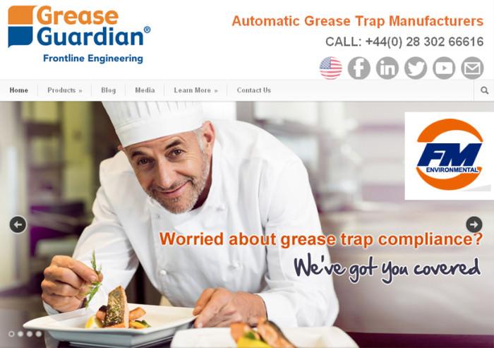 Grease Guardian Website