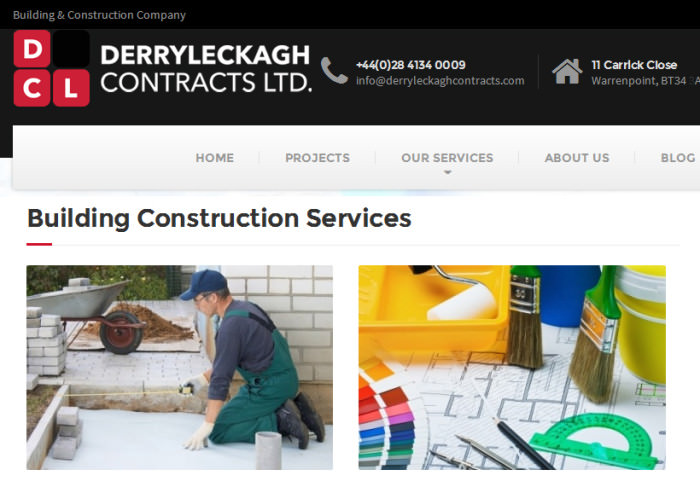 derryleckagh contracts