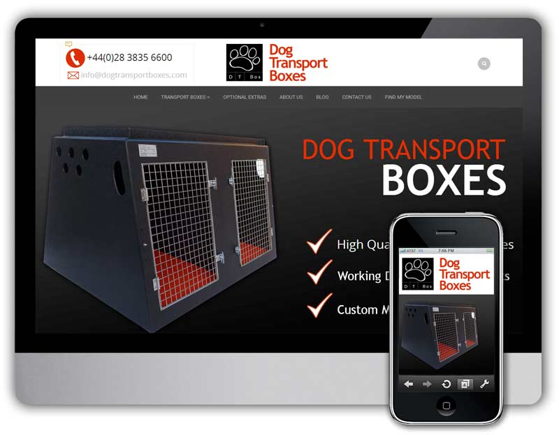 DOG TRANSPORT BOXES