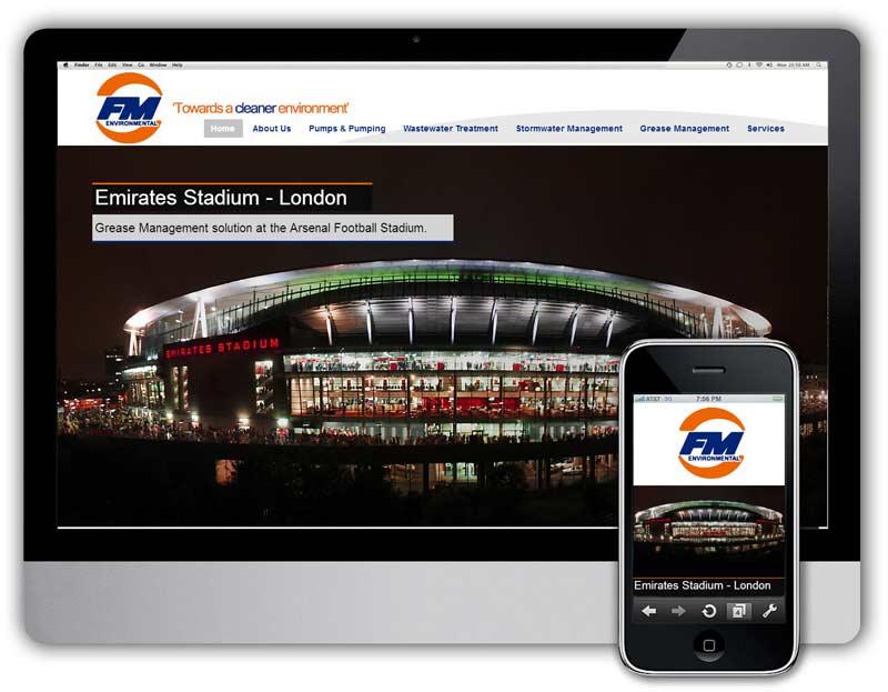 fm environmental web design